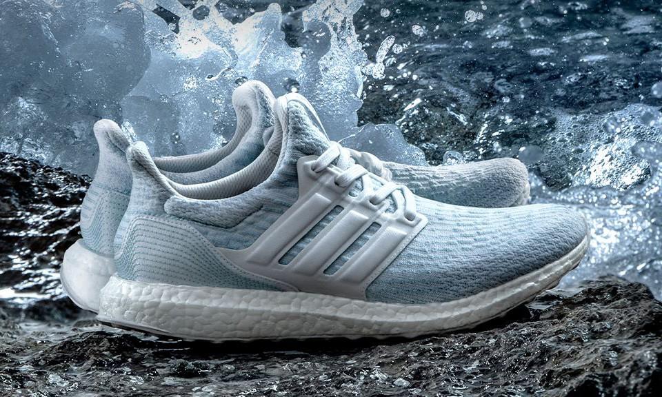 Adidas Begins using Ocean Plastic Waste